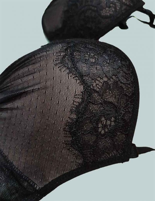 Reggiseno Push Up In Pizzo