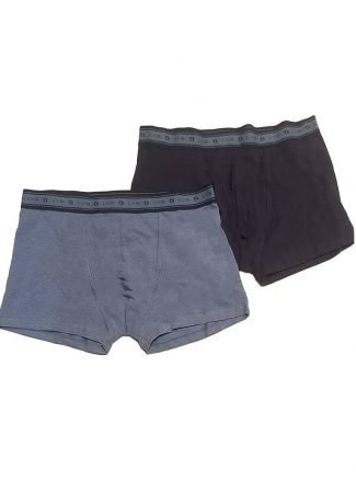 Lovable Boxer Bio Cotton Blu Bi Pack